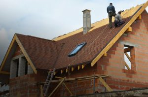 Bucci Roofing residential roofing job